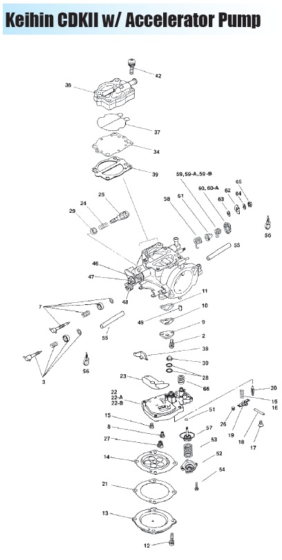 keihin fcr carburetor diagram