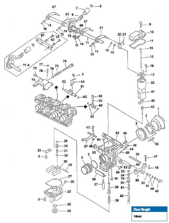 1980 honda ct70 wiring diagram honda s65 clymer wiring