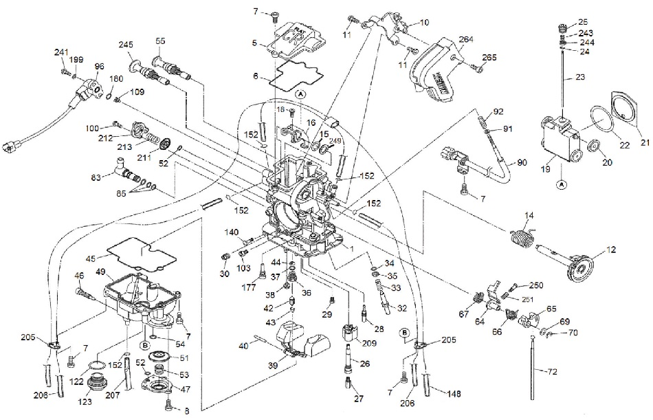 Carb keihin FCR MX carb exploded view parts further Tech Inside Holleys Hi Ram Modular Intake Manifold For Ls Engines also Parts further 84o3t Chevrolet Silverado 2500 Hd 02 Chevy 2500 Hd 6 0l Always together with FIG 08. on carburetor cover