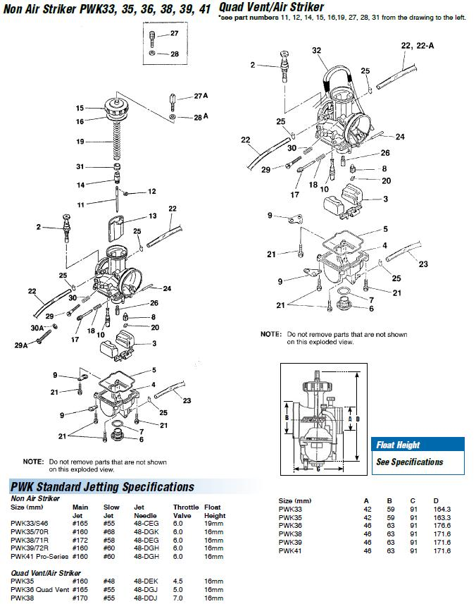 pwk 33 35 36 38 39 41 carb exploded view rh jetsrus com keihin cv carb diagram keihin carb diagram honda cr60r