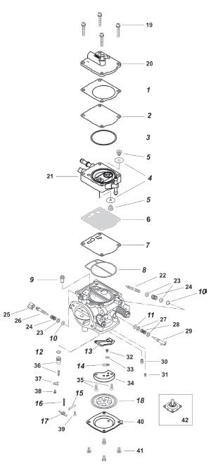 Yamaha Carburetors Exploded Views Com