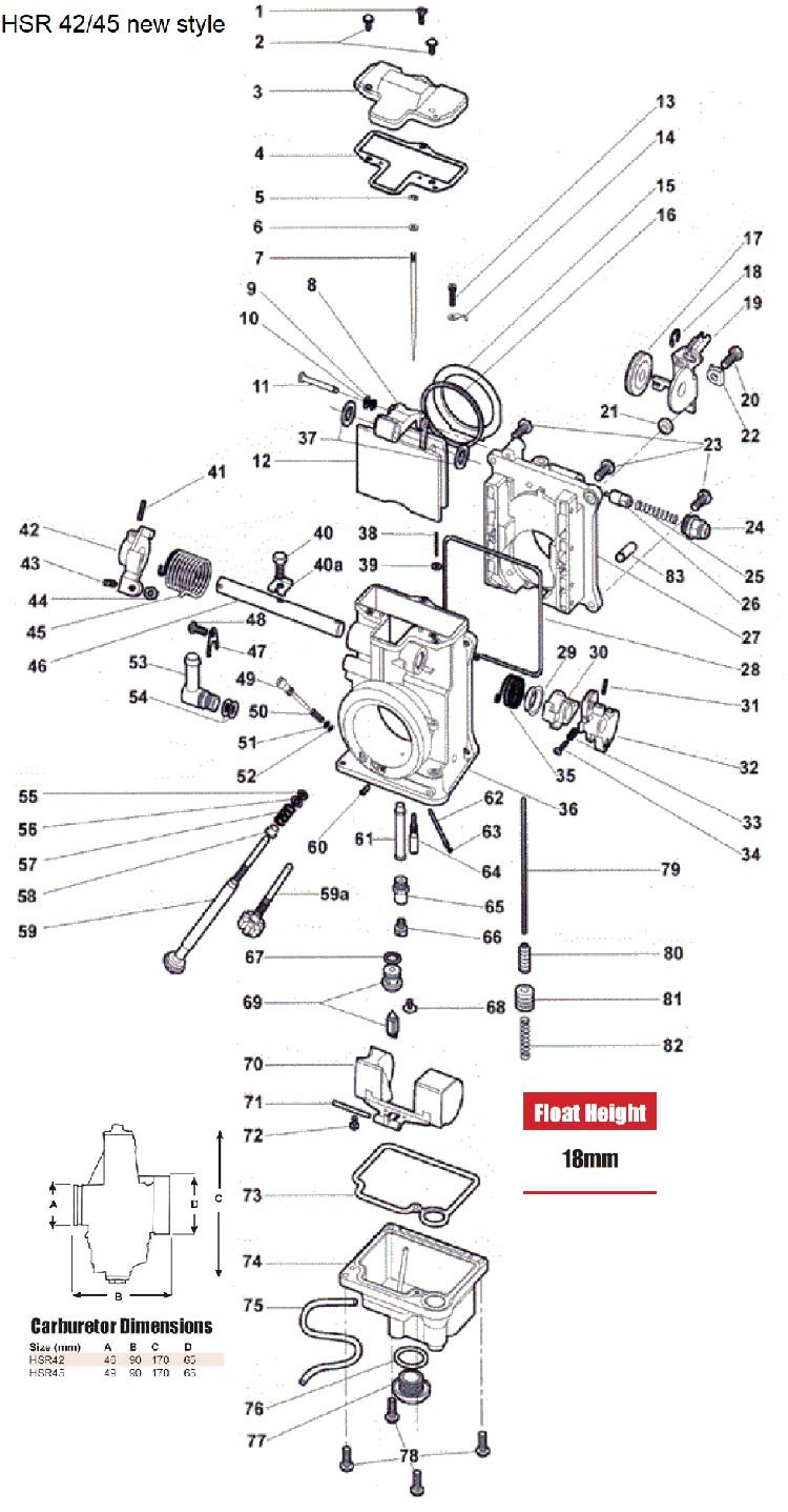 Image Result For Mikuni Carb Parts Diagram